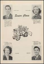 1952 Newkirk High School Yearbook Page 18 & 19