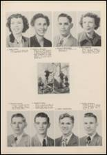 1952 Newkirk High School Yearbook Page 20 & 21
