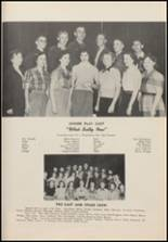 1952 Newkirk High School Yearbook Page 50 & 51