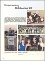 1990 Clyde High School Yearbook Page 54 & 55