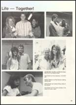 1990 Clyde High School Yearbook Page 56 & 57