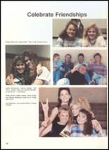 1990 Clyde High School Yearbook Page 58 & 59