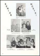 1990 Clyde High School Yearbook Page 64 & 65