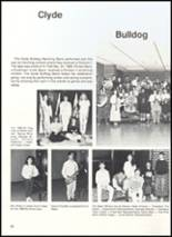 1990 Clyde High School Yearbook Page 94 & 95