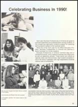 1990 Clyde High School Yearbook Page 104 & 105