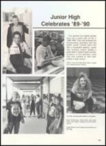 1990 Clyde High School Yearbook Page 110 & 111