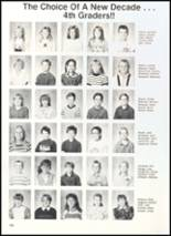 1990 Clyde High School Yearbook Page 142 & 143