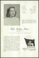 1951 National Cathedral School Yearbook Page 16 & 17