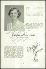 1951 National Cathedral School Yearbook Page 20 & 21