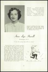 1951 National Cathedral School Yearbook Page 28 & 29