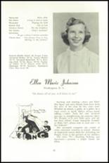 1951 National Cathedral School Yearbook Page 34 & 35