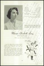 1951 National Cathedral School Yearbook Page 38 & 39