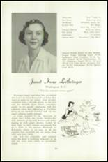 1951 National Cathedral School Yearbook Page 40 & 41