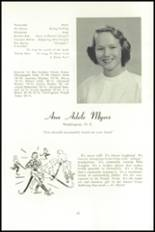 1951 National Cathedral School Yearbook Page 48 & 49