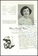 1951 National Cathedral School Yearbook Page 50 & 51