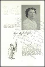 1951 National Cathedral School Yearbook Page 54 & 55