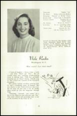 1951 National Cathedral School Yearbook Page 56 & 57
