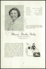 1951 National Cathedral School Yearbook Page 60 & 61