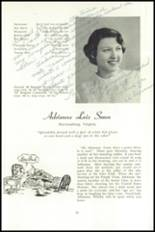 1951 National Cathedral School Yearbook Page 62 & 63