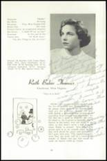 1951 National Cathedral School Yearbook Page 66 & 67