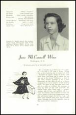 1951 National Cathedral School Yearbook Page 68 & 69