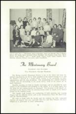 1951 National Cathedral School Yearbook Page 82 & 83