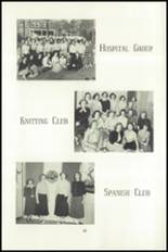 1951 National Cathedral School Yearbook Page 88 & 89