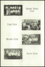 1951 National Cathedral School Yearbook Page 90 & 91