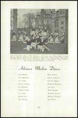 1951 National Cathedral School Yearbook Page 102 & 103