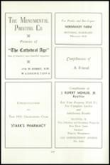 1951 National Cathedral School Yearbook Page 122 & 123