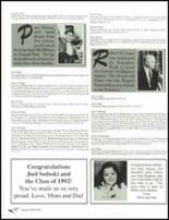 1992 Wyoming Valley West High School Yearbook Page 242 & 243