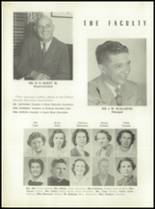 1952 Tift County High School Yearbook Page 22 & 23