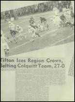 1952 Tift County High School Yearbook Page 100 & 101