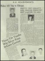 1952 Tift County High School Yearbook Page 124 & 125