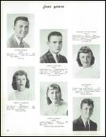 1959 Saratoga Springs High School Yearbook Page 42 & 43