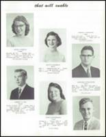 1959 Saratoga Springs High School Yearbook Page 44 & 45