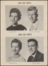 1956 Hondo High School Yearbook Page 22 & 23