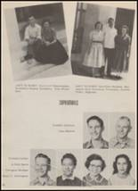 1956 Hondo High School Yearbook Page 28 & 29