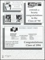 1994 Westland High School Yearbook Page 174 & 175