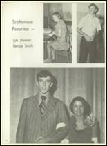 1971 McKinney High School Yearbook Page 100 & 101