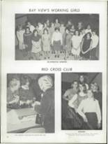1968 Bay View High School Yearbook Page 36 & 37