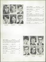 1968 Bay View High School Yearbook Page 124 & 125