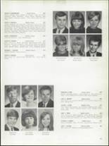 1968 Bay View High School Yearbook Page 130 & 131