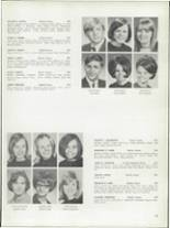1968 Bay View High School Yearbook Page 132 & 133