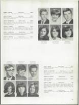 1968 Bay View High School Yearbook Page 134 & 135