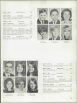 1968 Bay View High School Yearbook Page 136 & 137
