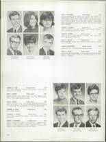 1968 Bay View High School Yearbook Page 152 & 153