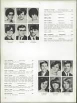 1968 Bay View High School Yearbook Page 154 & 155