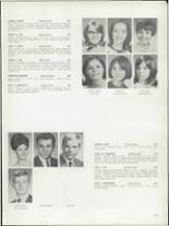 1968 Bay View High School Yearbook Page 156 & 157
