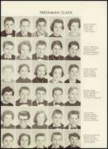 1958 Valdese High School - Francis Garrou Yearbook Page 54 & 55